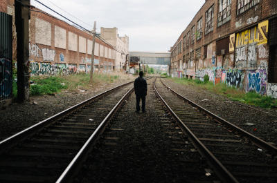 joelzimmer:   Jorge Bushwick, Brooklyn I met up with fellow photographer Jorge on Friday to explore some railyards and catch up about life and photography.