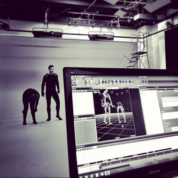 New Son Lux music video gettin high tech. #motioncapture