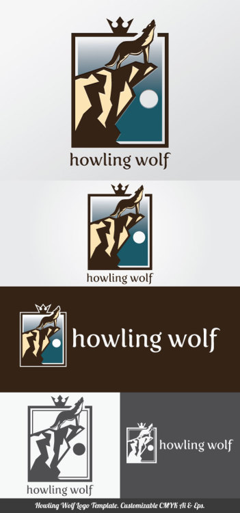 Howling Wolf Logo Template you can use for your trademark, branding identity or commercial brand. It is good for your company, corporate, club, organization & community. You can apply it in your stationery, neon box, uniform, product package, business card, etc. It contained customizable CMYK Ai & Eps files that you can change colors, shape, text, font type, position and size easily. Single color version, vertical & horizontal version included. Fonts are not included but you can obtained free from specific website that indicated in the font links file. Font links & license included in the main file. Enjoy!  Download here: http://files.indowebster.com/howling_wolf_logo_template.html