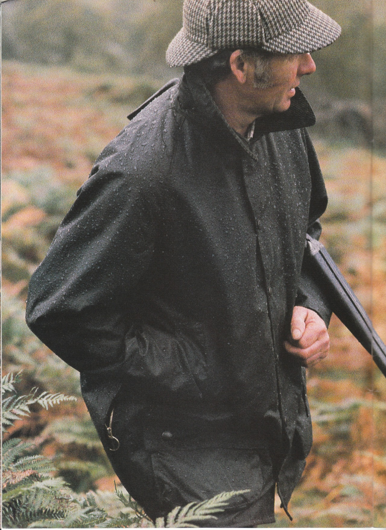 Barbour 1987 catalog.  A50 The Moorland Jacket.  My number one work jacket.