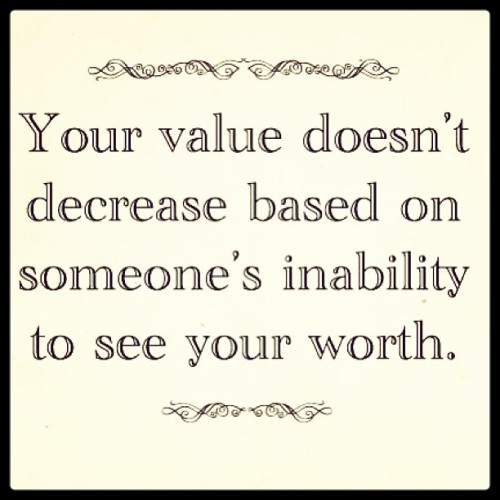 Know your value! Happy Monday 💕 #ffp #quote #quoteoftheday #value #worth
