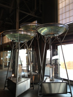 Can you believe it?! #3daystilopening Exploratorium Geysers exhibit at Pier 15. Photo by Alex Smith © Exploratorium, www.exploratorium.edu