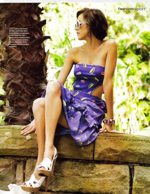 Isabel Lucas. Instyle Magazine january 2008