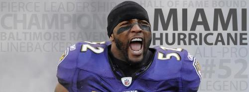 In honor of Ray Lewis' announcement, a Facebook Cover Photo of #52