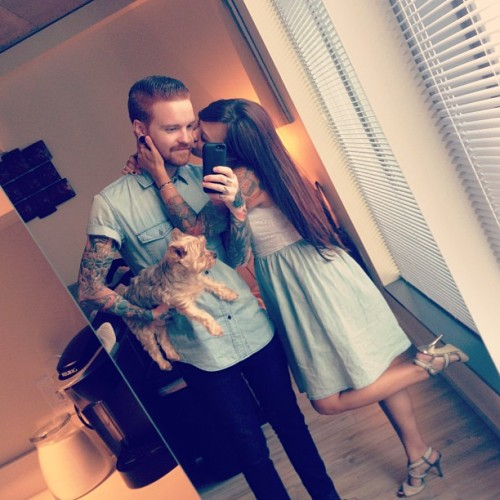 therealmattymullins:  Happy Mothers Day to the worlds sexiest puppy momma @Brittanymullins 😍