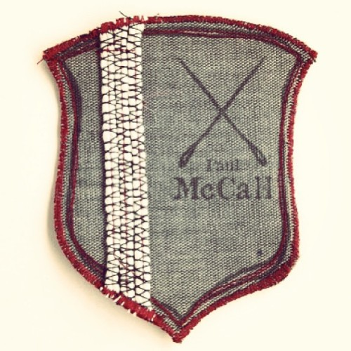 Get the badge and be official . #fashion #paulmccall #ewmccall #badge