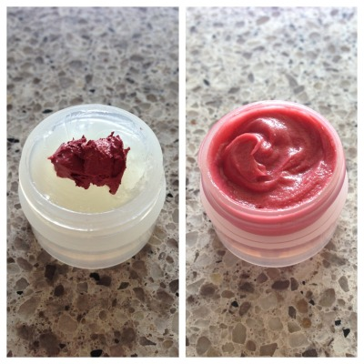 post-smoke:  vaseline + a bit of lipstick = lip gloss