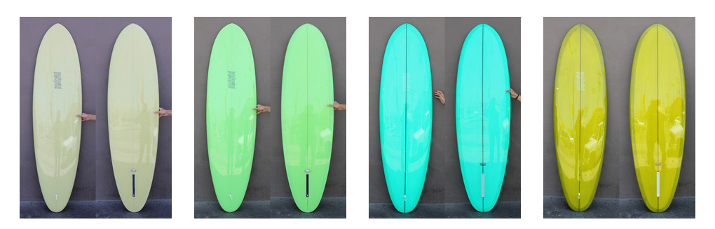 andreini surfboards at mollusk