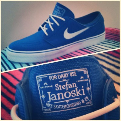 dbachini:  Finally joined the crew #nike #janoski #skateboarding #skate