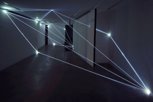 (via Fiber Optics Art Installations by Carlo Bernardini. - Design Is This)