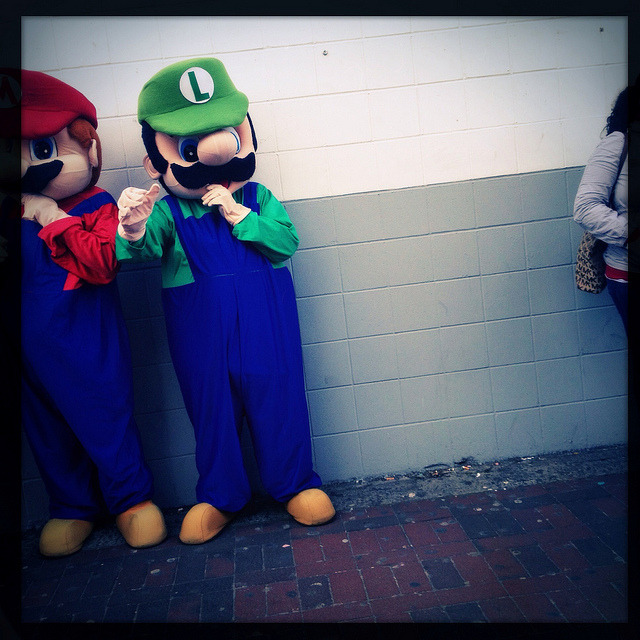 on Flickr.Mario and Luigi on Junction Boulevard.