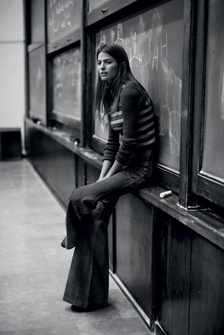models01:  Cameron Russell for Man About Town