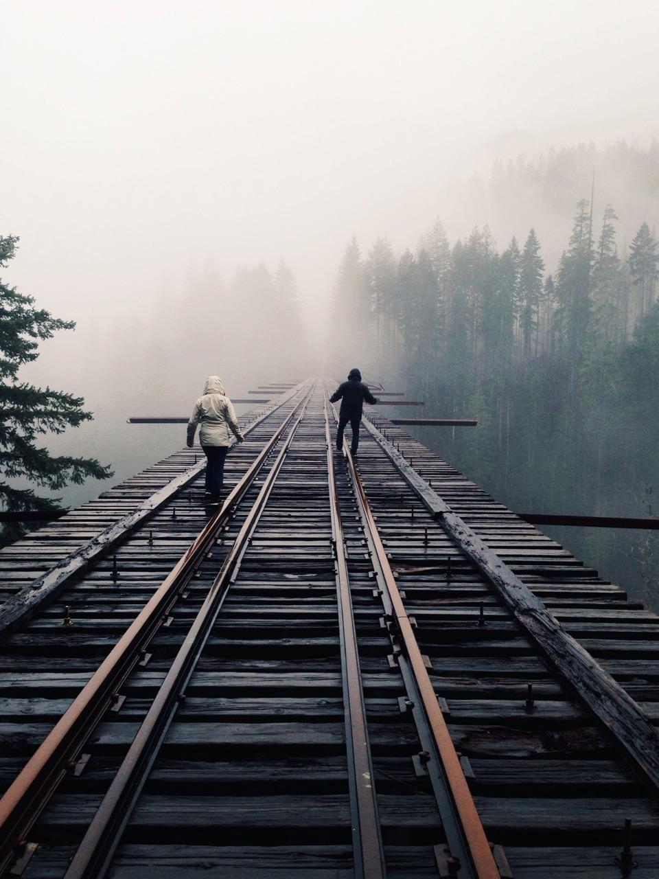 greyandblak:  Finally made it to the legendary Vance Creek Bridge
