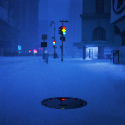 howtoseewithoutacamera:  by Pete Turner Times Square, New York, 1958