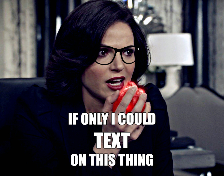 The real inventor of the cell phone: Regina Mills.