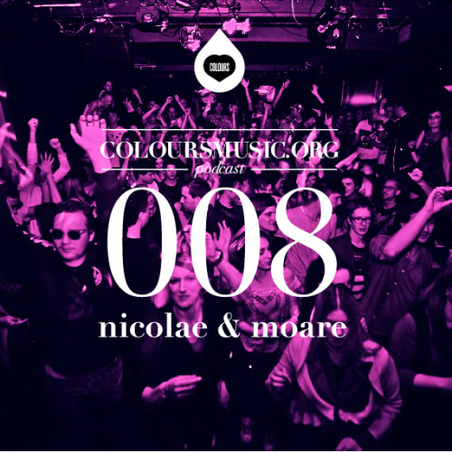 Series of podcast episodes from Colours Music collective and guests. For more info check www.coloursmusic.org This time we welcome a Ptuj based electronic music duo - Nicolae & Moare. https://soundcloud.com/colours-music/coloursmusic-org-podcast-8