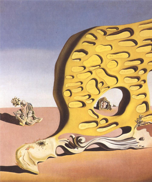 magrittee:  Salvoador Dali - The Enigma of Desire (partial)