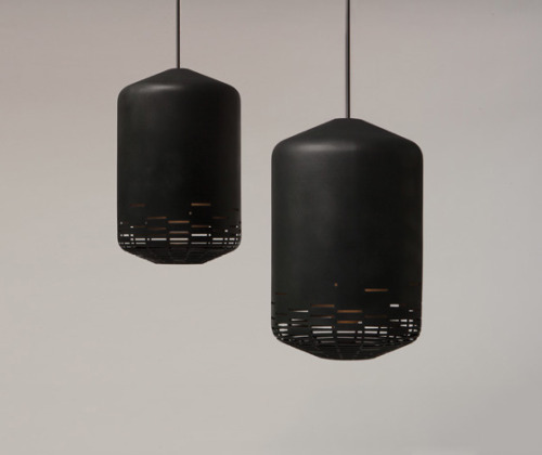 (via 'Notch' pendant light by Superéquipe (DE) @ Dailytonic)
