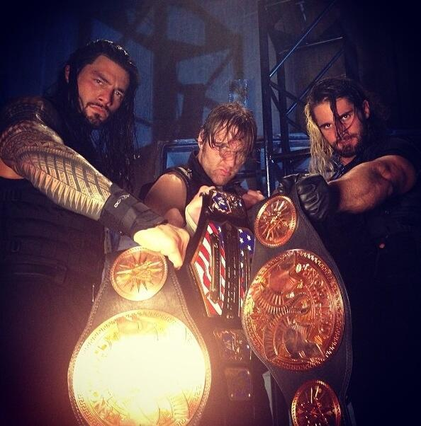 stonecoldsteveaaron:  Reigns, Ambrose, Rollins Believe in The Shield.