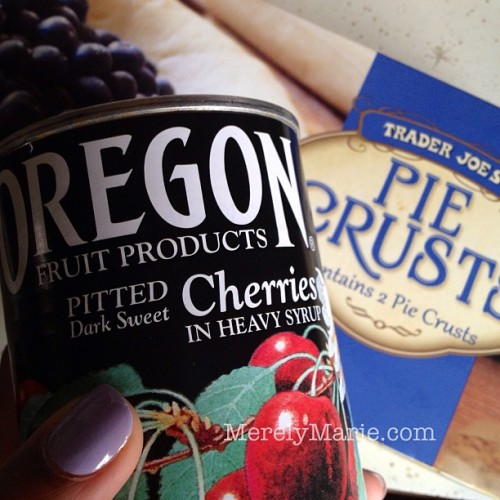 Tonight is the night! #cherrypie #craving