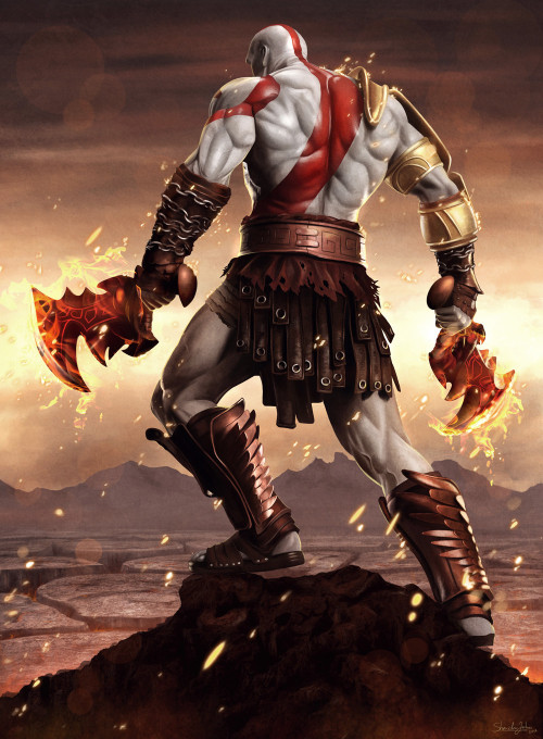 God Of War by Sheridan-j / deviantART / Facebook
