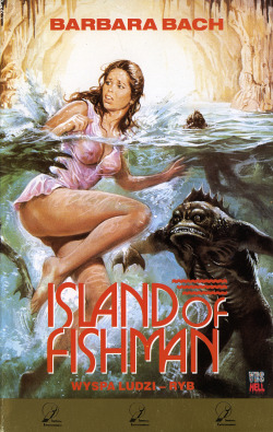 thelegendaryvhs:  Wyspa ludzi-ryb aka Island of Fishman aka Island of Fishmen aka The Island of the Fishmen aka L'isola degli uomini pesce Director: Sergio Martino 1979 imdb Imperial Entertainment