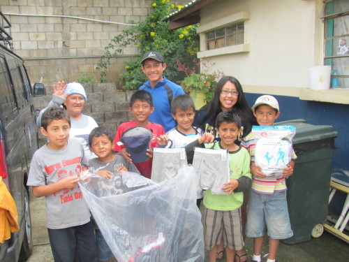 Fun day handing out donations to the kids :) They are always so excited.