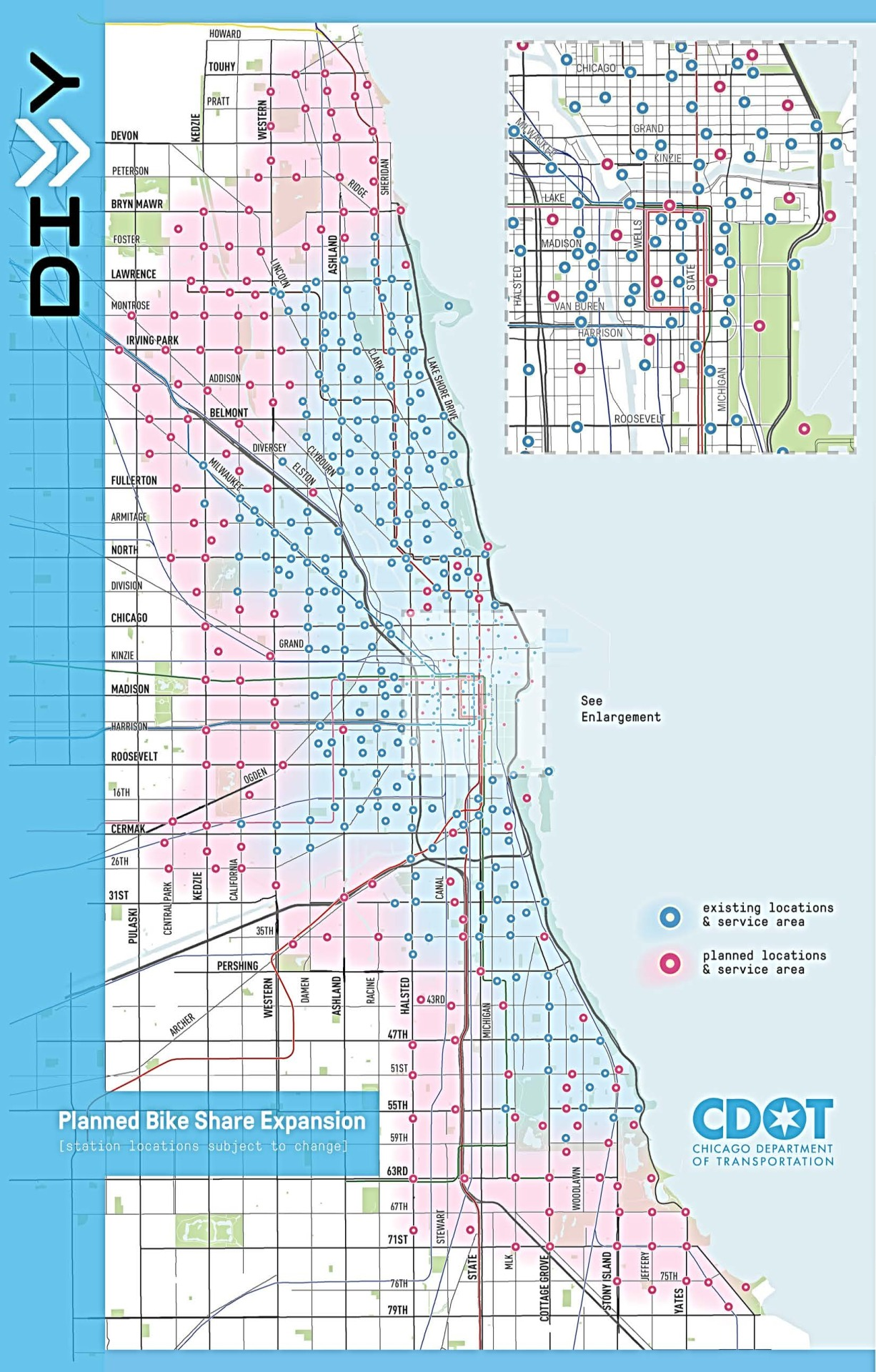 Chicago Divvy Map The Pros and Cons of Divvy's New Expansion Map – Streetsblog Chicago