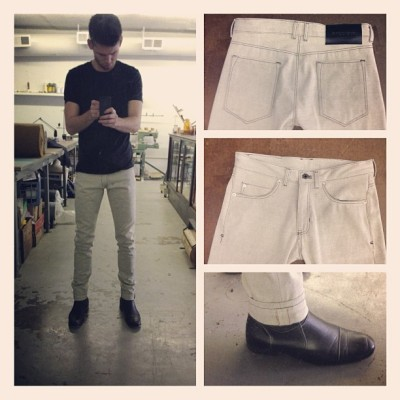 White Canvas Selvedge #billiamsecrets #lunchbreak