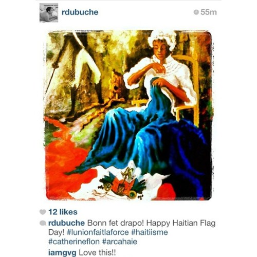 #RP I'm in love with this paintings. #HaitianFlagDay #enjoytheseconds cc: @rdubuche
