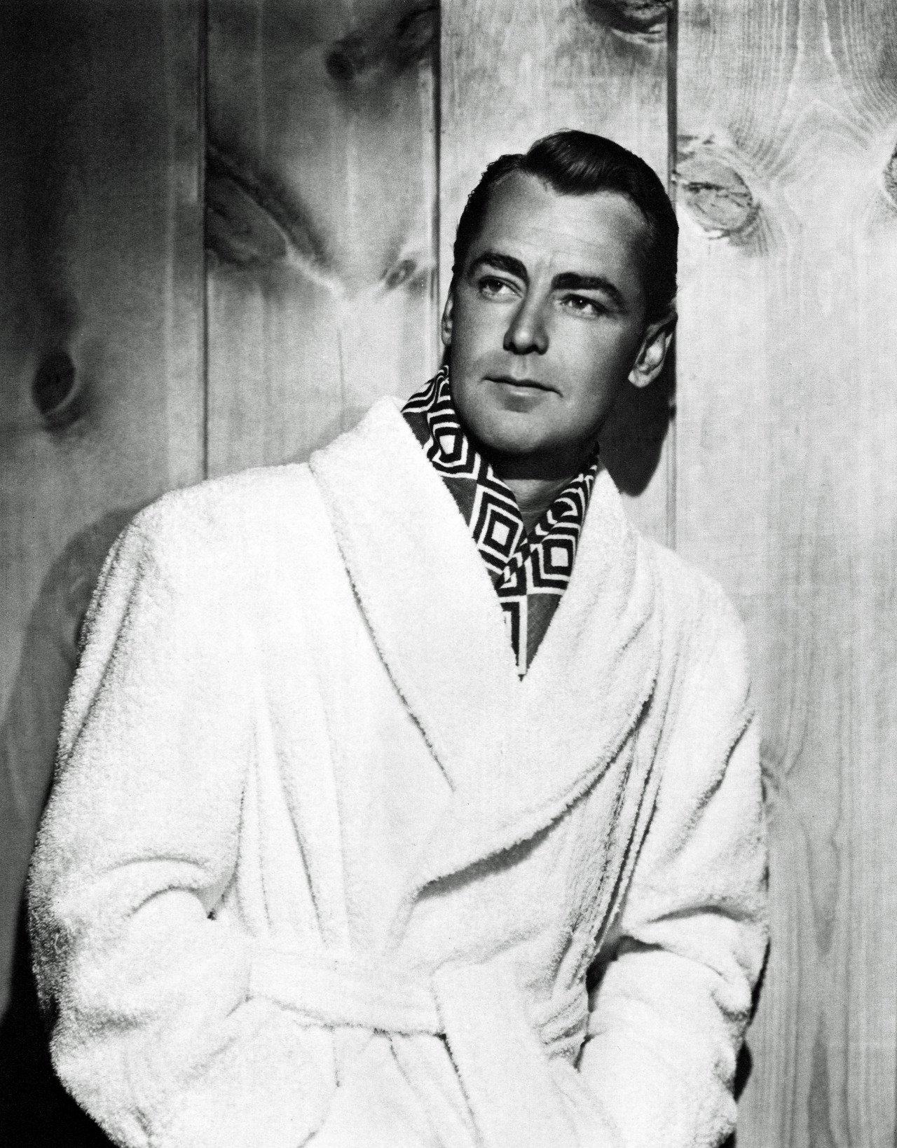 "Alan Ladd, by A. L. (""Whitey"") Schafer, for Paramount, 1945"