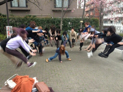 HADOKEN-ing – The latest craze in Japan
