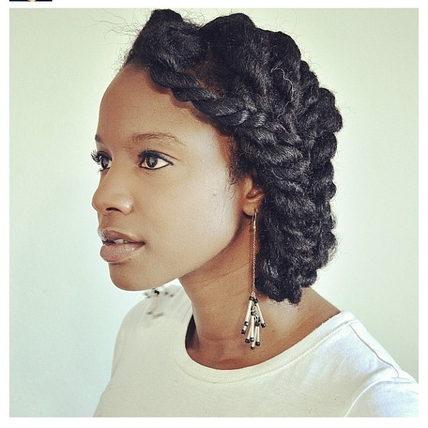 luvyourmane:  So simple, yet so beautiful!! 😍 @inikscott #luvyourmane #twists #naturalhair
