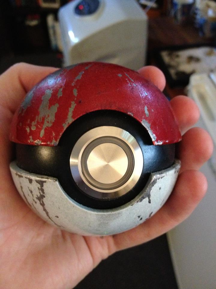 pokemon-fans:  Pokeball replica- the coolest thing I've ever ownedpokemon-fans.tumblr.compokemonfans.net