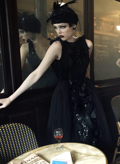 Coco Rocha by Steven Meisel for Vogue US (September 2007).