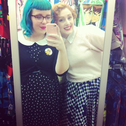 Shopping date with @thenursedawn! 💕
