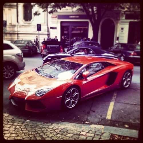 Red Devil in Prague, Czech Republic #car #lambo #best #cool #red #love #lol #like4like #life #like #follow #followme #followback #instahub #instagood #instalove #amazing #beauty #prague #czech #cz #luxury