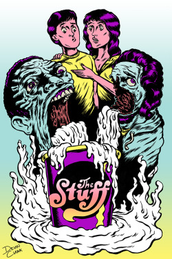 Horror movie homage - The Stuff!