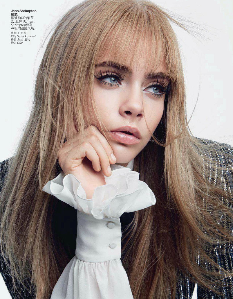 thebeautymodel:  Cara Delevingne by Patrick Demarchelier for Vogue China June 2013.