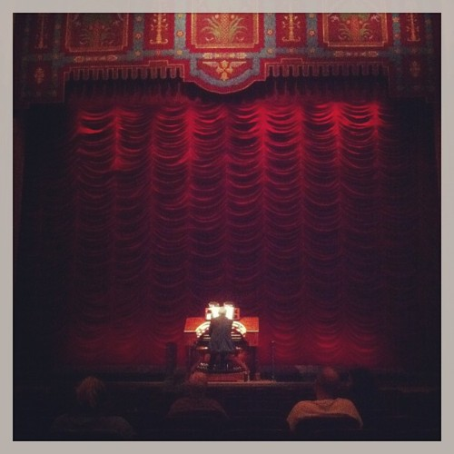 Night off at the movies… in style.  (at Stanford Theatre)