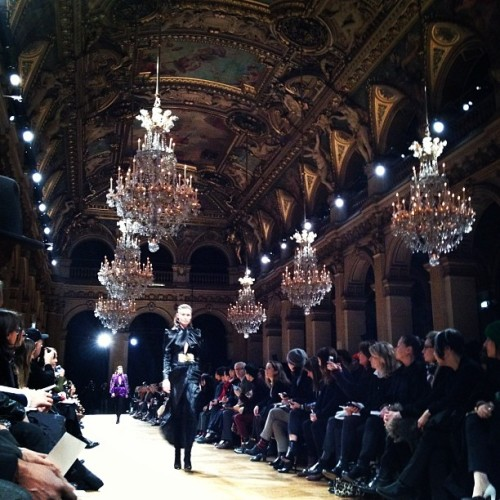 All blinged out at Balmain
