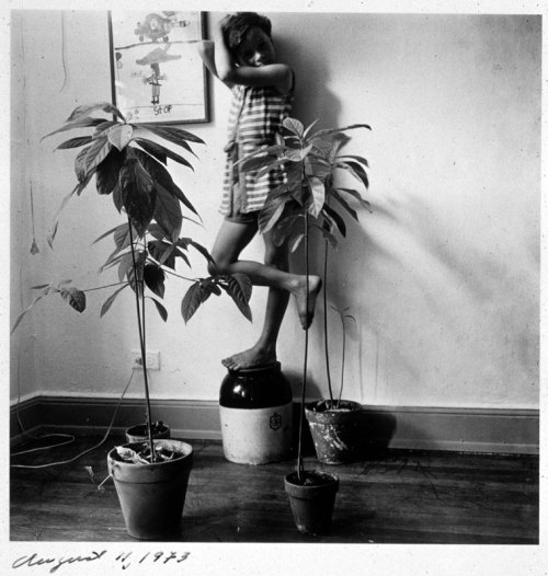 mpdrolet:  From Self-Portraits, 1972-73 Melissa Shook