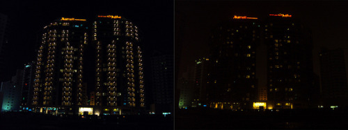 Earth Hour 2013: Marriott Executive Apartments Manama, Bahrain by Marriott International on Flickr.
