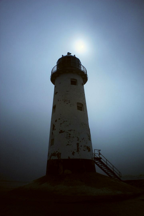 abandonedography:  Point of Ayr Lighthouse by David Firth
