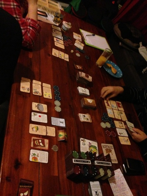 Mother's Day treat! A game of munchkin with boosters, some expansions and epic rules!
