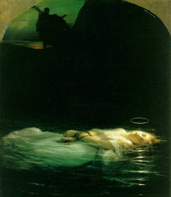 kellywren:  Paul Delaroche - The Young Martyr (1853)