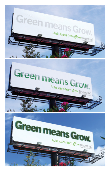 jaymug:  Grow Financial Federal Credit Union: Green Means Grow