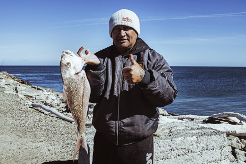Caught a Snapper down at the Mole, Aotearoa, New Zealand  More at www.joshkawana.com