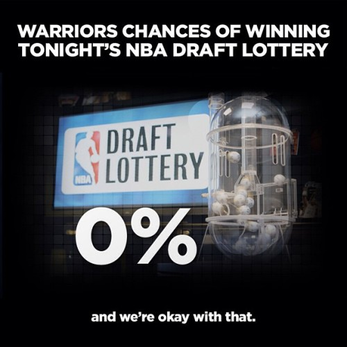 officialwarriors:  This year's Warriors coverage of tonight's NBA Draft Lottery.