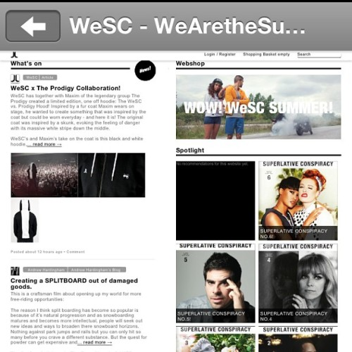 More of that @wesc1999 #app #dopeness